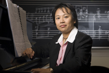 Chiayu Hsu graduate student composer in the department of music